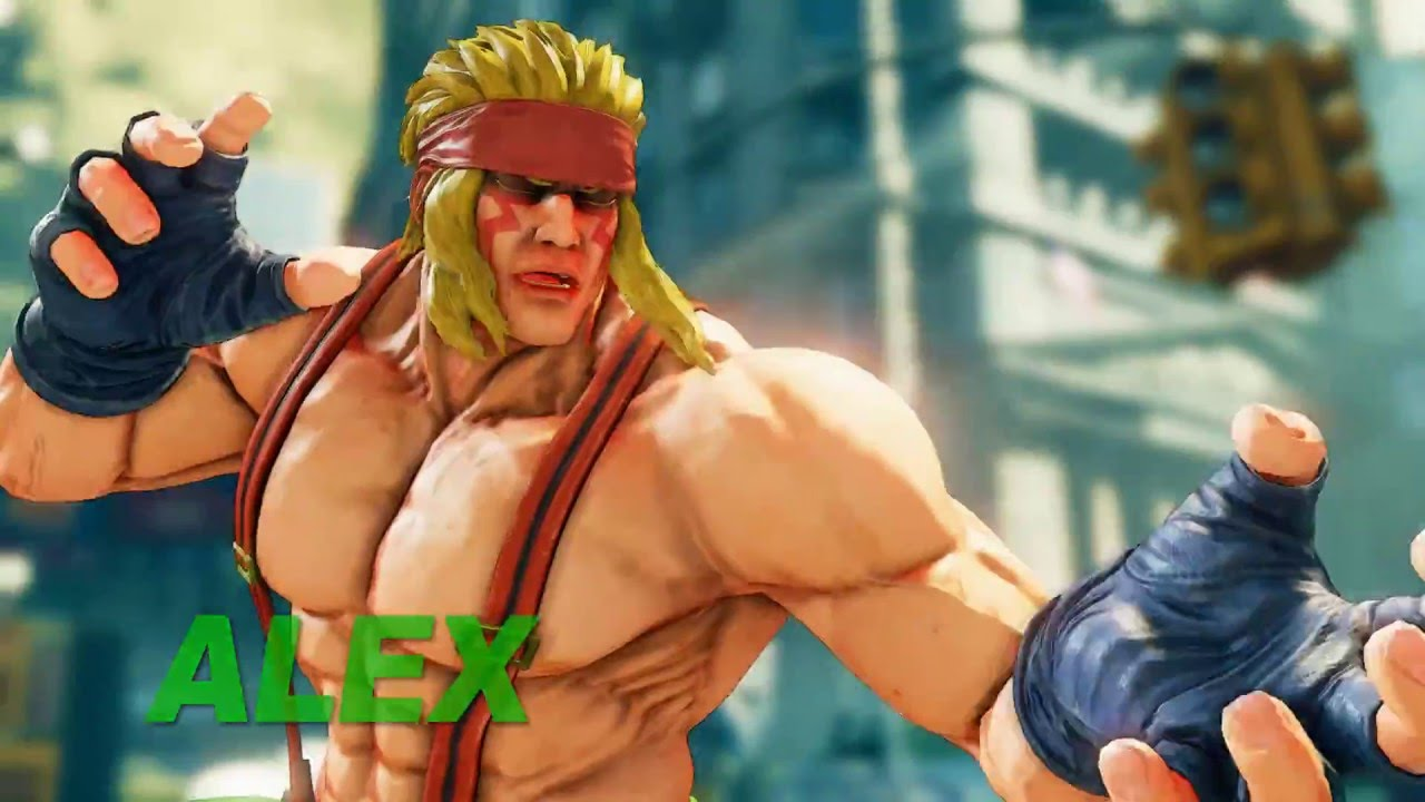Street Fighter V Alex Trailer