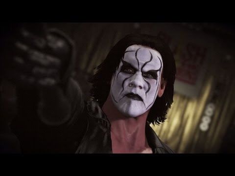 "WWE 2K16 - Trailer Sting ""Hall of Fame"""
